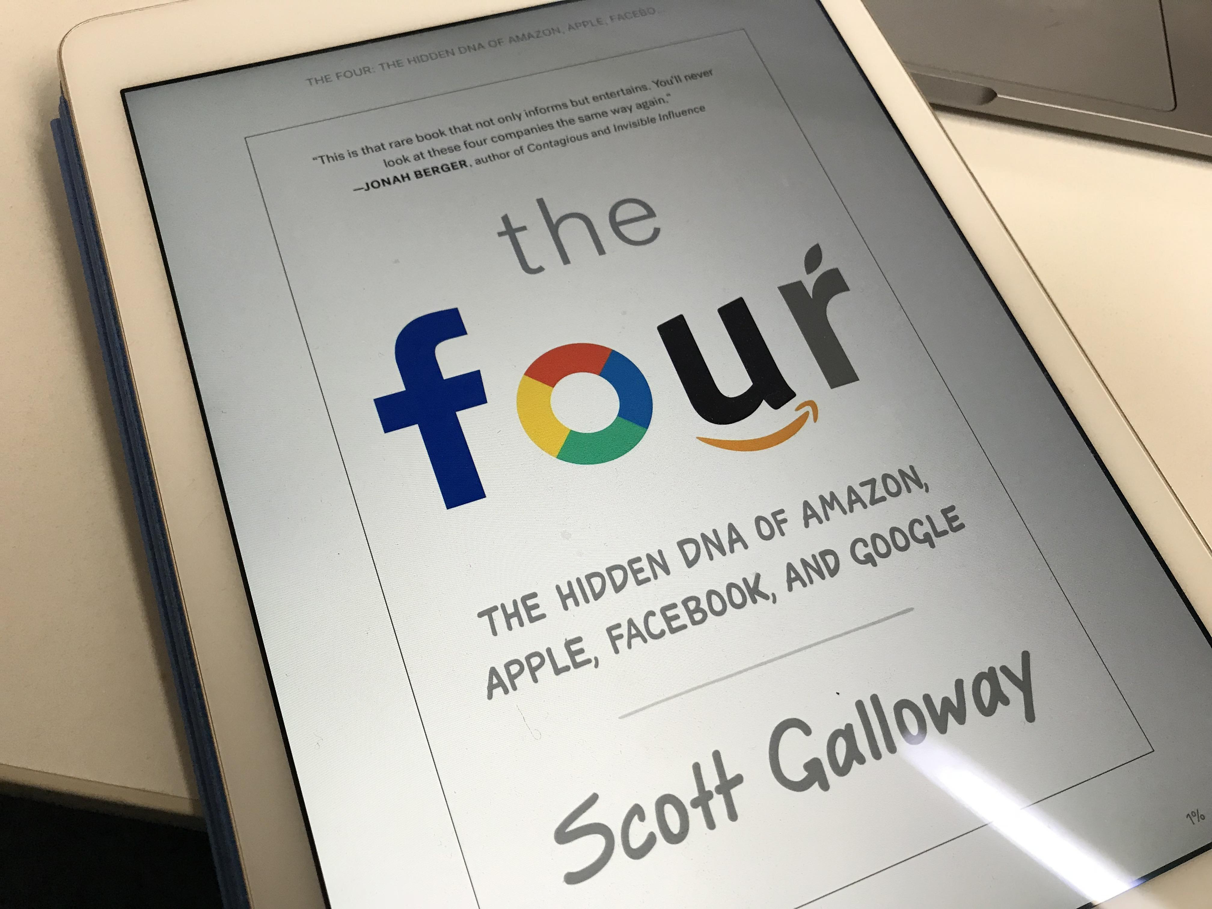 The Four 4社の巨人 を読んだ感想