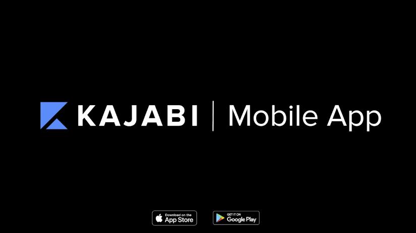 KAJABIのスマホアプリがリリースされました!