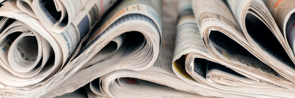 本や新聞などの活字も昔からある「情報コンテンツ」です。