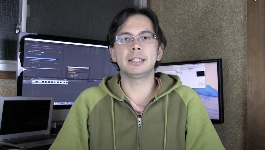 ボロいシェアハウスで試行錯誤していた頃に撮った動画の一コマ