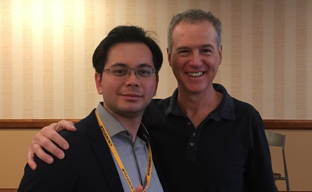 ジェフ・ウォーカーがアメリカで開催しているセミナーにも何度も参加しました。